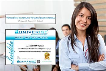 T�rkiye'nin �lk Online Tematik ��letme Okulu Univerist�Business School'da (univerist.com.tr) e-Mikro MBA (Kurumsal ��letme E�itimleri) 29,90 TL'den...