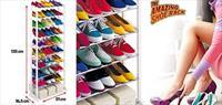 Amazing Shoe Rack 10 Katli Portatif Ayakkabilik!