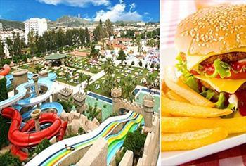 Ku�adas� Long Beach Aqualand'e t�m g�n plaj giri�i, havuz, aquapark kullan�m� ve hamburger men�s� 19,90 TL'den ba�layan fiyatlarla!