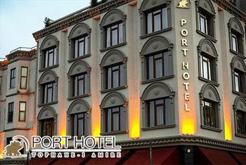E�siz �stanbul Manzaral� Port Hotel Tophane-i Amire'de 2 Ki�i 1 Gece Kahvalt� ve Odaya Meyve Taba�� �kram� Dahil Konaklama Keyfi 300 TL Yerine 179 TL!