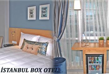 Harbiye �stanbul Box Otel'de Boutique Hotel'de 2 ki�i 1 gece konaklama + Kahvalt� 199 TL yerine 139 TL!