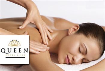 �aml�ca Queen Hotel & SPA'da 30 dakika kese - k�p�k uygulamas� 50 dakikal�k masaj se�enekleriyle 80 TL Yerine 39 TL'den ba�layan fiyatlarla!