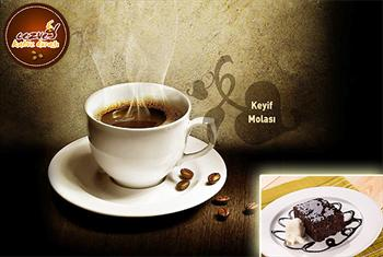 Brandium AVM Cezve Kahve Dura��'nda enfes tatl� ve yan�nda T�rk Kahvesi veya limonata se�eneklerinden biri 13,50 TL yerine 6,99 TL!