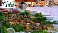 Deniz Manzaralı Sarıyer Riva'da Yöresel Açık Büfe Köy Kahvaltısı Keyfi!