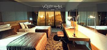 Volley Hotel �zmir'de 2 Ki�ilik �ok �zel Konaklama!