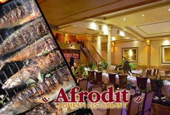 Kumkap� Afrodit Restaurant'ta Canl� Fas�l E�li�inde Yemek Men�s� 110 TL Yerine 59,90 TL!