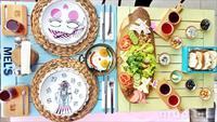 Rumeli Hisar� Mel's Cafe & Bistro'da Moduna G�re Konseptli Kahvalt� Tabaklar�!