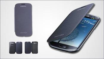 Galaxy S3'�n�z Flip Cover ile hem �ok ��k hem de �ok sa�lam! Galaxy S3 i�in Flip Cover 80 TL yerine %76 grupfoni f�rsat�yla sadece 19,90 TL!