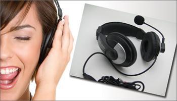 Kaliteli ses, inan�lmaz fiyat! Mikrofonlu Kulakl�k 45 TL yerine %67 grupfoni f�rsat�yla sadece 14,90 TL!
