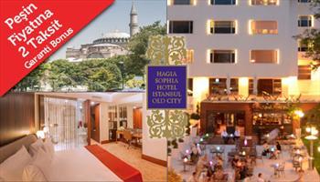 Hagia Sophia Hotel �stanbul Old City'de 2 Ki�i 1 Gece Konaklama, Oda Kahvalt� ve North Shield'te 1'er Kadeh 'Ho�geldin' ��kisi 600 TL yerine %65...
