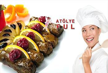 �i�li At�lye Ful'de meze, sos,makarna �e�itleri,y�resel yemeklere kadar �e�itli yemek kurslar� 49 TL'den ba�layan fiyatlarla!