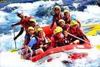 Dallas Rafting ile K�pr�l� Kanyon'da Rafting ve A��k B�fe ��le Yeme�i 30 TL - T�m Ekipmanlar Dahil