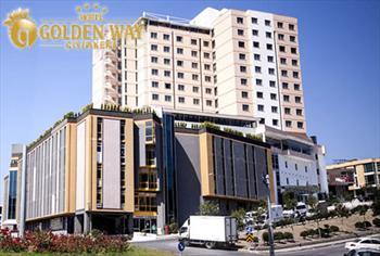 Giyimkent Golden Way Hotel'de 2 ki�i 1 gece oda kahvalt� konaklama keyfi ve �slak alan kullan�m� 350 TL yerine 179 TL!