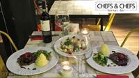 Trump Chefs & Chefs'te Canlı Müzikli 2 Kişilik Ziyafet Menüleri 29 TL'den başlıyor!