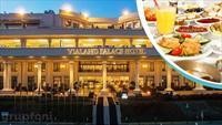 Vialand Palace Hotel'in Heyecan Verici Manzaras� E�li�inde Serpme Kahvalt� Keyfi!