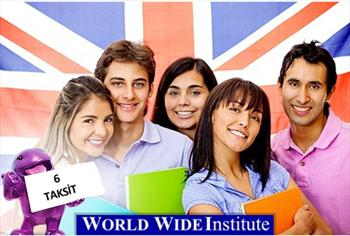 World Wide Institute International'da 1 Kur �ngilizce 2000 TL Yerine 199 TL
