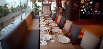 Beylikd�z� Avenue Rezidans Terrace Cafe'de Kahvalti!