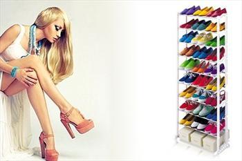 Amazing Shoe Rack 10 Katl� Ayakkab�l�k 19,90 TL