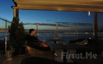 B�y�kada Oras� Buras� Restaurant'ta, Adadan �stanbul Manzaras� ve Canl� M�zik E�li�inde Romantik Ak�am Yeme�i 85 TL!