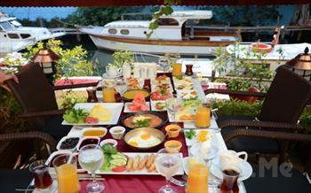 Anadolu Hisar� My Moon Restaurant'ta G�ksu Nehri Kenar�nda Y�resel Lezzetlerle 30 �e�itten Olu�an Serpme Kahvalt� Keyfi ve Kahve �kram� 40 TL Yerine...