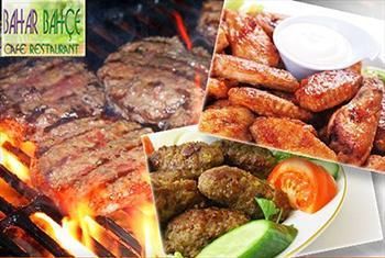 Beylikd�z� Bahar Bah�e Cafe & Restaurant'ta Deniz Manzaras� ve Ye�illikler Aras�nda 2 Ki�ilik Mangal Keyfi 120 TL Yerine 79,90 TL!
