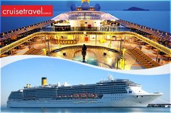 Akdeniz'in B�y�leyici Limanlar�! Costa Mediterranea ile THY U�u�lu 6 G�nl�k Cruise Turu 1499 TL! (Barselona, Cenova, Marsilya ve Daha Pek �ok Liman...