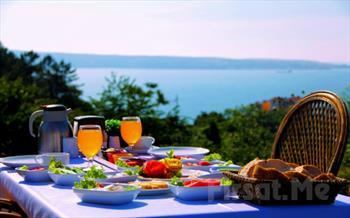 Anadolu Feneri'nde, Bo�az Manzaral� Ta�l�han Restaurant'ta A��k B�fe Kahvalt� Keyfi 45 TL Yerine Sadece 23.90 TL!