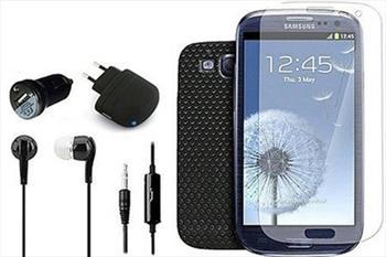 12'li Samsung Galaxy S3 Aksesuar Seti 15,9 TL