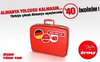 Almanya Yolcusu Kalmas�n! T�rkiye ��k��l� Almanya U�u�lar�nda %40 �ndirim ile, Adana - Berlin(Tegel) U�u�unda Yararlanabilece�iniz S�n�rl� Say�da...