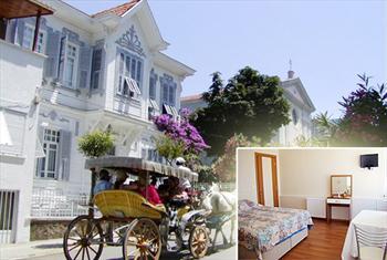 B�y�kada Kalamariki Hotel'de 2 Ki�i 1 Gece Kahvalt� Dahil Konaklama Keyfi 199 TL Yerine 119 TL'den Ba�layan Fiyatlarla!