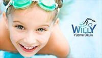 Willy'den Yetişkinler ve Çocuklar İçin Özel Yüzme Dersleri 129 TL'den başlayan fiyatlarla!