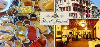 Tarihi Hotel Bosnali'dan Manzara E�li�inde Teras'ta Serpme Kahvalti!