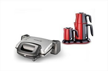 Korkmaz A313-01 Kompakto Maxi Tost Makinesi 99,90 TL, �ay ve Kahve Makinesi Se�enekleriyle - �cretsiz Kargo