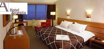 Anatolia Hotel'de 2 Ki�i Konaklama, Kahvalti, Hamam, Fitness!