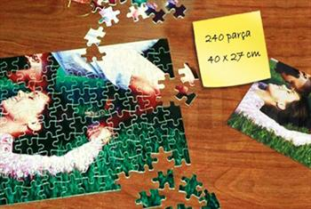 Sevdiklerinizle en sevdi�iniz pozlar puzzle olsun! 240 par�al�k A3 ebat�nda FotoPuzzle 49,90 TL yerine 24,90 TL!