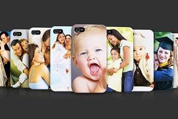 iPhone, Samsung Galaxy ve Note ile Uyumlu Ki�iye �zel Bask�l� Telefon K�l�f� 18,9 TL