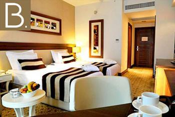 Bursa'n�n konfor adresi Baia Hotel'de kahvalt� dahil �ift ki�ilik 1 gece konaklama ve spa keyfi 270 TL yerine 179 TL!