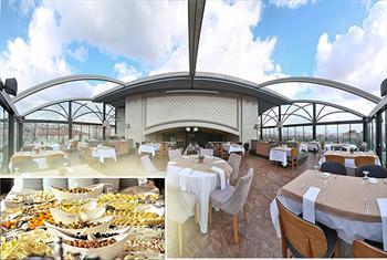 �aml�ca Queen Hotel'in Teras Kat�nda Zengin A��k B�fe Kahvalt� Keyfi 35 TL Yerine 19,90 TL!