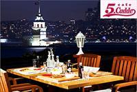 �sk�dar Cafe 5.Cadde'de Canl� Fas�l E�li�inde K�z Kulesine Kar�� Muhte�em �ftar Yeme�i 55 TL Yerine 39,90 TL!