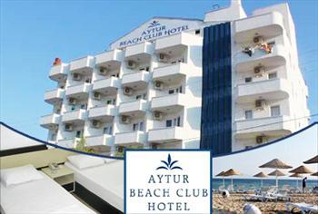 Ayval�k Sar�msakl�'daki Aytur Beach Hotel'de 2 ki�ilik odada ki�i ba�� 1 gece HER �EY DAH�L konaklama keyfi 125 TL Yerine 75 TL!