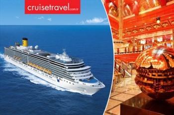 5* Cruise Gemisi Costa Deliziosa ile 9 Gece �talya, �spanya, Portekiz, �rlanda ve Hollanda Turu 2040 TL Yerine 749 TL! - World'e �zel 4 Taksit...