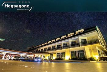 Dar�ca Bayramo�lu Hegsagone Business & Meeting Hotel'de �slak alan kullan�m� dahil 2 ki�i 1 gece oda kahvalt� konaklama keyfi 270 TL yerine 149 TL!