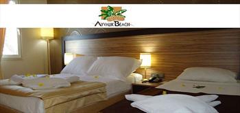 Ayvalik Beach Hotel'de Denize Sifir Her �ey Dahil Tatil!