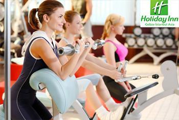 Gebze Holiday Inn Hotel'de 3 veya 6 Ayl�k S�n�rs�z Fitness ve Sa�l�k Kul�b� �yeli�i 249 TL'den Ba�layan Fiyatlarla!