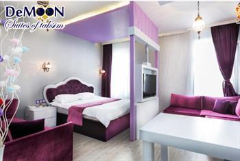 �stiklal'in merkezindeki eviniz Taksim De Moon Otel'de 2 Ki�i 1 Gece Konaklama Keyfi 259 TL Yerine 129 TL!