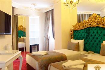 Mecidiyek�y White Monarch Hotel'de Oda Kahvalt� Dahil �ift Ki�ilik 1 Gece Konaklama Keyfi 230 TL Yerine 169 TL!