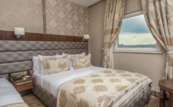 Yenibosna Midmar Deluxe Hotel'de Standart Odalarda 2 Ki�i 1 Gece Konaklama + Kahvalt� + 30 Dk. Masaj Keyfi Sadece 199 TL!