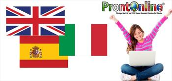 Prontoitalia'dan 1 Yil Boyunca Online 3 Dil E�itimi!
