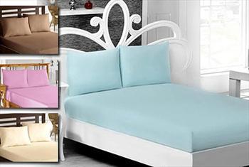 Lavianna'dan yatak odalar�n�za renk katacak fitted �ar�af ve yast�k k�l�flar� 9,90 TL'den ba�layan fiyatlarla!