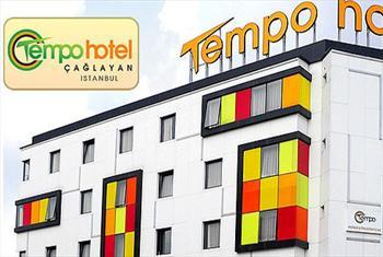 �ehrin Tam ��inde �a�layan Tempo Otel'de 2 Ki�ilik 1 Gece Oda Kahvalt� Konaklama Keyfi 240 TL Yerine 149 TL!